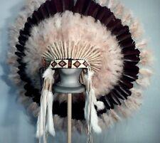 Native American Ghost Dancer War Bonnet Feather Headdress