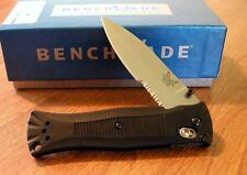 BENCHMADE New Mel Pardue Folder Part Serrated 154CM Blade Knife/Knives