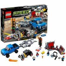 LEGO 75875 Speed Champions Ford F-150 Raptor & Ford Model A Hot Rod. New