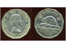 CANADA 5 cents  1962    ANM
