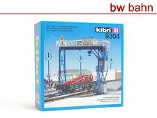 Kibri H0 Bausatz 9304 Überladekran Rungenwagen mit Beladung Kran Neu