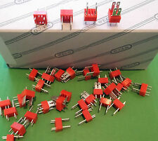 Terminal Block 2 Way 15A Dual Tabs 2.8mm or 6.3mm PCB 900S7502 x20pcs @£0.05p ea