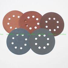 Mix Grit 600 800 1500 2000 3000#  5 Inch 8 Hole SANDING DISCS Sandpaper