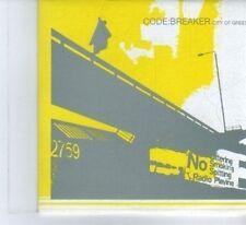 (DF209) Code: Breaker, City Of Greed - DJ CD