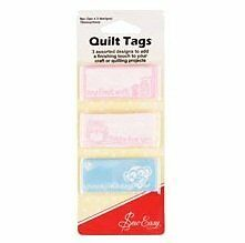 Sew Easy Quilt Tags - Baby To personalise your quilt