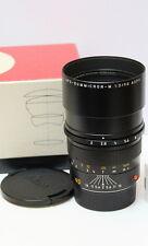 Nuovo di zecca Leica APO SUMMICRON-M 1:2/90mm ASPH 11884 Nero in scatola MP m6/7/8 m9 m240 M-P