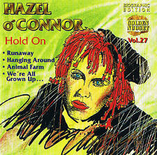 "HAZEL OConnorHold On"" 12 Tracks CD NEW & ORIG. BOX Cosmus DSB"