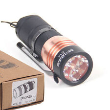Manker E14 1600 lumens CREE XP-G3 LED Flashlight 18350 Taschenlampe (6500K)