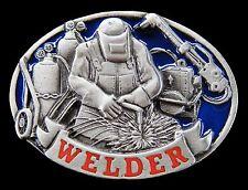 WELDER WORKER TOOLS SPOT ARC OLD WELDING EQUIPMENT BELT BUCKLE BELTS BUCKLES