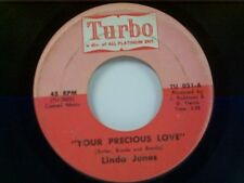 "LINDA JONES ""YOUR PRECIOUS LOVE / DON'T GO"" 45"