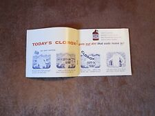 Vintage Clorox Booklet Use 1960's Brochure Coupon FREE SHIP