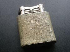 Stunning Rare Large Unique Dunhill Shagreen Table Lighter in Lovely Condition