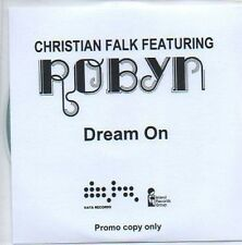 (52F) Christian Falk ft Robyn, Dream On - DJ CD