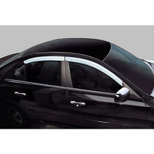 Chrome Window Visor Vent Set For 99 01 Hyundai Sonata