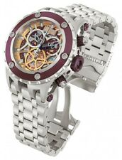 New Mens Invicta 13742 Subaqua Specialty Reserve Chronograph COSC Bracelet Watch