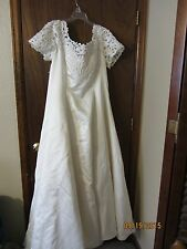 OLEG CASSINI Wedding Dress size 20