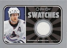 BRENDAN MORRISON 06-07 O-Pee-Chee OPC  SWATCHES GAME JERSEY S-BM