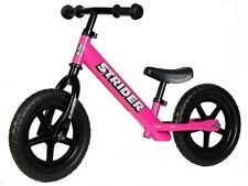 STRIDER 12 Balance Bike Classic Kids No-Pedal Learn To Ride Pre Bike PINK NEW