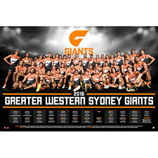 AFL - 2016 Team Posters Greater Western Sydney Giants POSTER 61x91cm NEW * Footy
