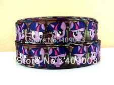 "My Little Pony Ribbon Twilight Sparkle 1"" Wide NEW UK SELLER FREE P&P"