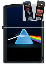 Zippo 0236 prism rainbow triangle Lighter with *FLINT & WICK GIFT SET*