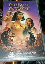 The Prince of Egypt VHS VIDEO �� �� �� FAST POST