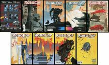 Robocop Last Stand Comic Set 1 2 3 4 5 6 7 8 Lot + Baltimore Comic-Con 8 Bit Var