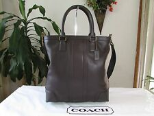 NWT Coach Men's Leather Business Shoulder Tote F71640 Mahogany