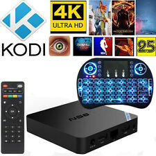 MXQ S805 Smart TV BOX Android XBMC Quad Core 8GB Media Player+Backlit Keyboard