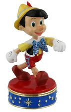 Disney Pinocchio Hinged Metal Die Cast Trinket Box Figurine DI112 RRP £19.95