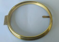 Polished Brass Clock Bezel Outside Diameter 214mm Inside 188mm