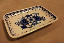 DE porceleyne fles 1979 Royal DELFT OLANDESE VINTAGE PIN in ceramica vassoio piatto piccolo