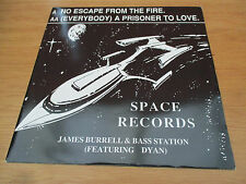 "James Burrell &  Bass Station ‎– No Escape From The Fire Vinyl 12"" 33RPM UK 1992"