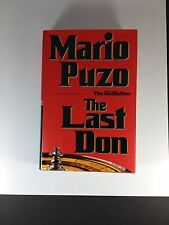 The Last Don By Mario Puzo HC 1996 MT First Edition