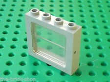 Fenetre LEGO TRAIN OldGray window ref 4033 + glass 4034 / Metroliner 4558 4547