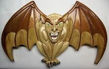 NEW    Intarsia wood PATTERN ONLY; GARGOYLE 'Protector'