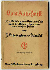 Schrönghamer-Heimdal: Vom Antichrist, 1918.