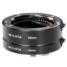 Meike Auto Focus AF Metal Macro Extension tube for Sony E-Mount NEX Camera NEX3