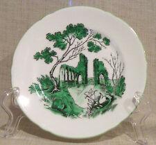 Shelley Castle Green Bread Plate