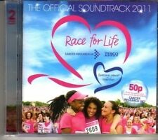 (DG901) Race For Life, The Official Soundtrack - 2011 double CD