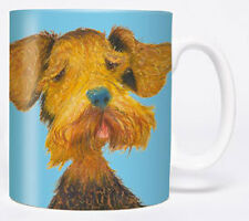 Comic Hund - The General - Airedale Terrier -  Mug - Becher - Chopes