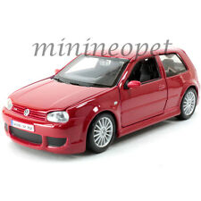 MAISTO 31290 VW VOLKSWAGEN GOLF R32 GT1 1/24 DIECAST MODEL CAR RED