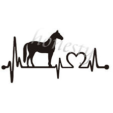 Horse Window Door Car Sticker Laptop Auto Truck Black Animal Vinyl Decal Sticker