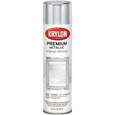 Metallic Spray Paint 8oz-Original Chrome
