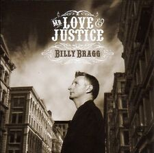 Billy Bragg - Mr.Love & Justice / Cooking Vinyl Records CD 2008