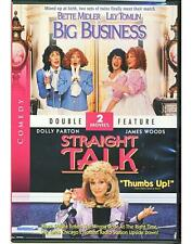 Big Business/Straight Talk (DVD)Dolly Parton-Bette Midler-Lily Tomlin
