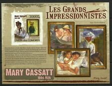 COMORES TABLEAUX IMPRESSIONNISTES PAINTINGS NON DENTELE IMPERF ESSAY ** 2009