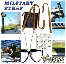WOSS Military BRN Trainer, Made In USA Suspension System, Home Gym Training Gear