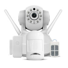 720P HD 1.0MP Wireless Webcam Linkage Alarm Security System, Wifi IP Camera Set