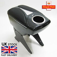 Black Armrest Centre Console Fits Honda Accord Civic CR-V CRX Jazz Stream HR-V